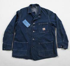 1950s Head Light Denim Chore Jacket