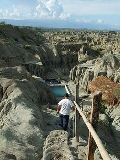 Natural Pool, The Tatacoa Desert, Huila, Colombia. Visit our website: http://www.going2colombia.com/