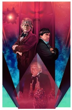 From the Doctor Who tenth anniversary story - The Three Doctors. The Doctor has to help the Timelords when a black hole threatens to drain all of their . The Three Doctors Original Doctor Who, Jon Pertwee, William Hartnell, Classic Doctor Who, Doctor Who Fan Art, Second Doctor, Tenth Anniversary, Don't Blink, Doctor Who