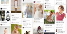 """""""Is Pinterest the New Darling of Retail Search?"""" -- 2/2014: """"Pinterest has now surpassed e-mail and is the third most popular way to share content online, behind only Twitter and Facebook."""" -- Shown: """"Pinterest results for summer dress for wedding"""" and is compared with a similar Google search, which is significantly different."""