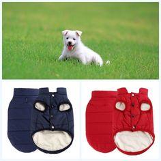 Pet Clothing Dog Winter Coat Vest Puppy Cat Warm Fleece Jacket Chihuahua Clothes
