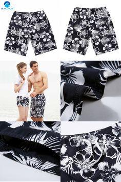 [Visit to Buy] Men Sport Beach Shorts Swim Trunks Men's Shorts Sport Man Shorts Quick Dry bermudas masculina marca boardshorts surf Sports #Advertisement