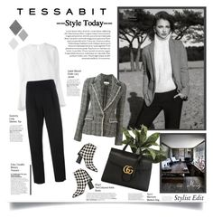 """""""Style Today"""" by thewondersoffashion ❤ liked on Polyvore featuring MSGM, Étoile Isabel Marant, Givenchy, Erika Cavallini Semi-Couture, Gucci, gucci, isabelmarant and tessabit"""