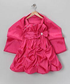 Fuchsia Pickup Dress & Shawl from Angels New York on #zulily!