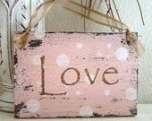 Love sign...