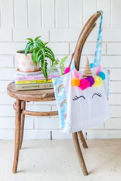 Make Your Own Unicorn Tote Bag - Pattern & Ebook + Video