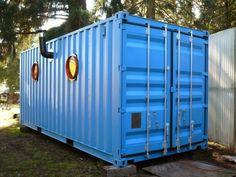 Container SA: Casa Container Pequena e Aconchegante (10 cases entre 15 m² e 45 m²)