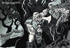 Marcelo Marcos Gutierrez: #orcos, #fantasy, #fantasía, #ilustracion, #artwor...
