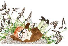 Rebecca Cobb - The Ferry Birds by Helen Dunmore