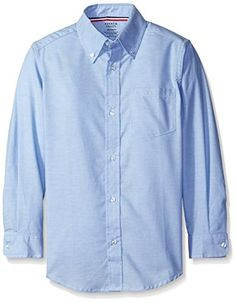 French Toast Boys' Long Sleeve Oxford Dress Shirt *** See this awesome image @