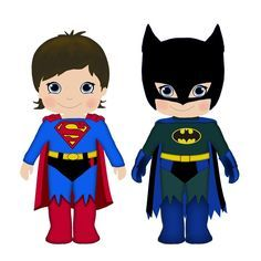 Superhero clip art free