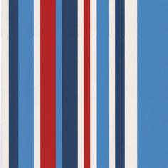 Vliesbehang blauw-wit-rood (dessin 2203-40)
