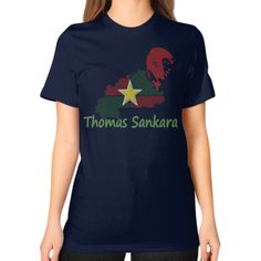Thomas Sankara Fine Jersey T-Shirt Women's