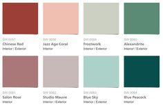 Sherwin Williams 1920s Color Palette