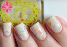 GlitterDaze Frolicking In The Flowers Nail Polish | Cosmetic Sanctuary