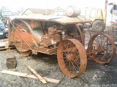 Steel Wheels - The Website for Veteran TractorsGray Drum Drive 18-36 built in 1919,