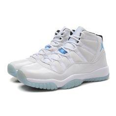 3690abb0d29e Air Jordan 11 Basketball Shoes High Jordan 11 Legend Blue