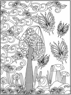 Christmas Village Coloring Pages Street Colouring Page