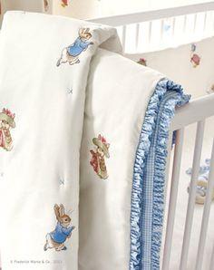 Beatrix Potter Nursery Collection ~ TheNurseries : peter rabbit baby quilt - Adamdwight.com