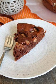 Fondant au chocolat & poires (4)
