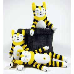 PaaPii Design - Rollo Cat, yellow