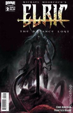 Elric The Balance Lost (2011 Boom) 2A Comic book cover