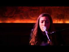 Birdy - Shelter (Live) - YouTube VIDEO - Fabulous cover of one of my favorite songs - 16 year old British musician Jasmine van den Bogaerde (aka Birdy)