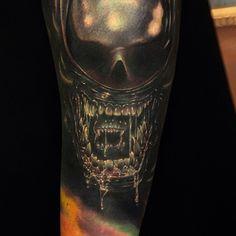 Alien, tattoo