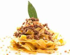Tagliatelle with Bolognese Sauce - Seated Dinner Option