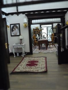 magic practical room dollhouse entrance furniture plans cabin hall finished finishes fabric floor discover location process building