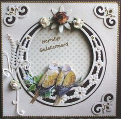 Birthday Card Diy Creative Pop Up Ideas Christmas Cards 2017, Xmas Cards, Cool Birthday Cards, Diy Birthday, Marianne Design Cards, Feather Cards, Wedding Cards Handmade, Embossed Cards, Bird Cards