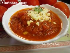 Marinara sauce. An easy to make and delicious pasta sauce. Marinara sauce is an Italian tomato sauce that originated in Naples, usually made with tomatoes, garlic, herbs, and onions. Its many varia…