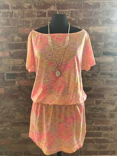 awesome LILLY PULITZER PRINT DRESS SIZE MEDIUM