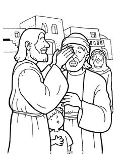 coloring sheet for Bible Story of David\'s father sent him to carry ...