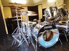 東京都K様 コージーパウエル(Cozy Powell)レプリカ ドラムヘッドプリント&ステッカー制作実例
