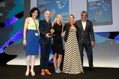 @TBWA Worldwide accepting the Grand Prix for Press on Wednesday at #CannesLions