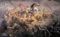 Tian Dan y los bueyes en llamas