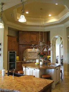Preciosas cocinas de estilo toscano Beautiful Floor design and