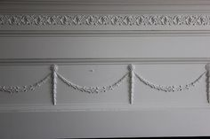 Maison Decor: Furniture Appliques and Moldings now sold at Maison Decor! Wall Molding, Moldings, Crown Molding, Fireplace Mantle, Living Room With Fireplace, Ceiling Painting, Antique Wardrobe, Cottage Living Rooms, Painted Boards