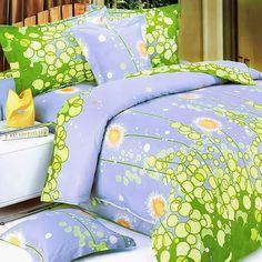 Dandelion Dream  Luxury 4PC Mini Comforter Set Combo 300GSM (Queen Size)