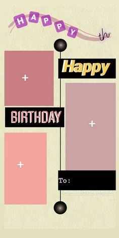 Creative Instagram Photo Ideas, Ideas For Instagram Photos, Instagram Photo Editing, Instagram Story Ideas, Instagram Blog, Instagram Quotes, Birthday Captions Instagram, Birthday Post Instagram, Happy Birthday Posters