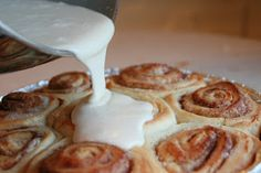 Pioneer women cinnamon rolls (I think I'll do a cream cheese frosting instead of Maple)......Christmas Gifts??