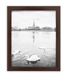 Golden State Art Walnut Photo Wood Collage Frame with REAL GLASS 8x10 -- Click on the image for additional details.-It is an affiliate link to Amazon. #PictureFrames