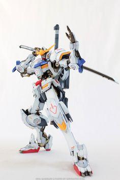 GUNDAM GUY: 1/100 Gundam Barbatos [RG Style] - Customized Build