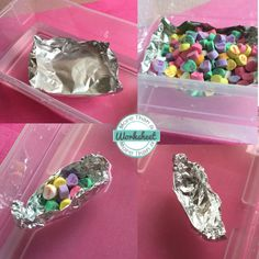 Build an aluminum foil boat that holds the most candy! Candy Heart STEM Challenges…fun ideas for leftover candy hearts. From STEM Activities for Kids #stemactivitiesforkids #morethanaworksheet #stemchallenges