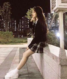 Baca j sist was in short story ♡ ⚠️harshwords ©taenyan Ulzzang Fashion, Asian Fashion, Girl Fashion, Uzzlang Girl, Girl Couple, Ulzzang Korean Girl, Girls Uniforms, School Uniform Girls, Pretty Asian