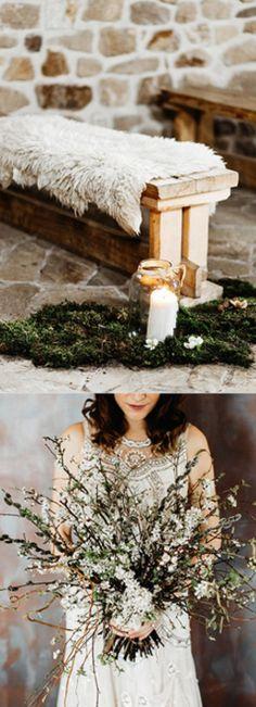 Gorgeous winter wedding ideas.