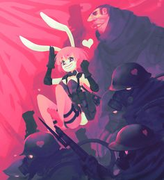 ArtStation - Pink Army, Alexis Rives