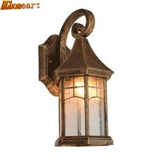 68.00$  Buy here - http://ali7th.shopchina.info/1/go.php?t=32803777103 - European Waterproof Outdoor Lighting Retro Wall Lamp American Creative Garden Lights Balcony Staircase Corridor Wall Lamp E27  #buychinaproducts