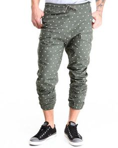 Love this Star Pattern Twill Jogger Pants by Buyers Picks on DrJays. Take a look and get 20% off your next order!
